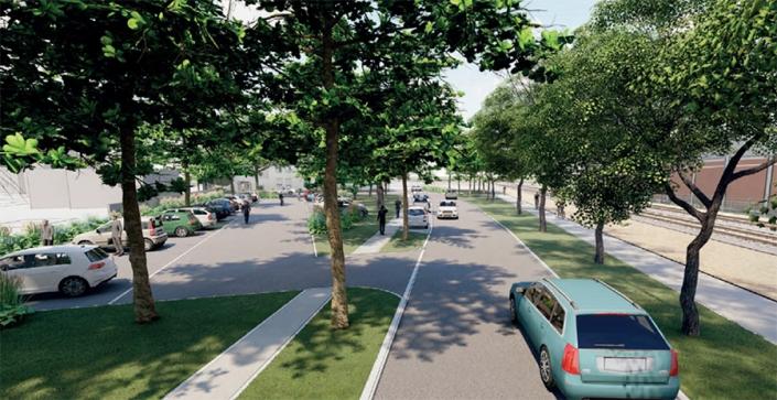 Requalification de rue et parkings
