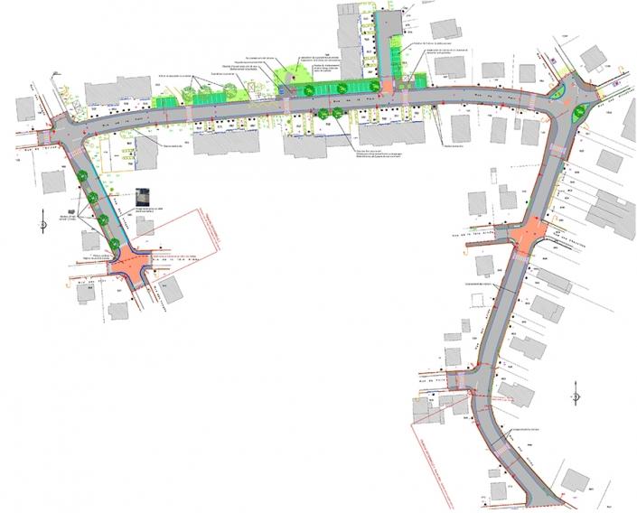 requalification de rues à Village-Neuf