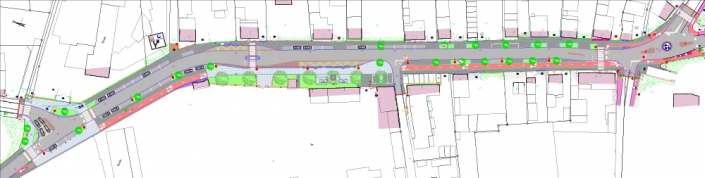Plan masse avenue Nathan Katz