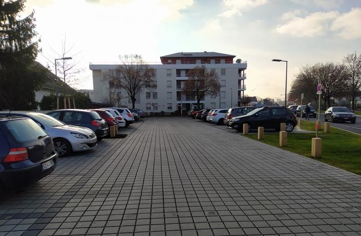 Requalification de rue et Parking réaménagé à Huningue