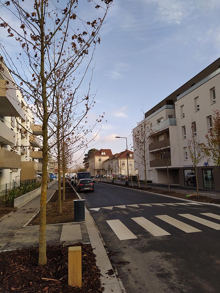 Requalification de rue et parkings à Huningue